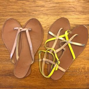 5 for $20 Forever 21 Sandals